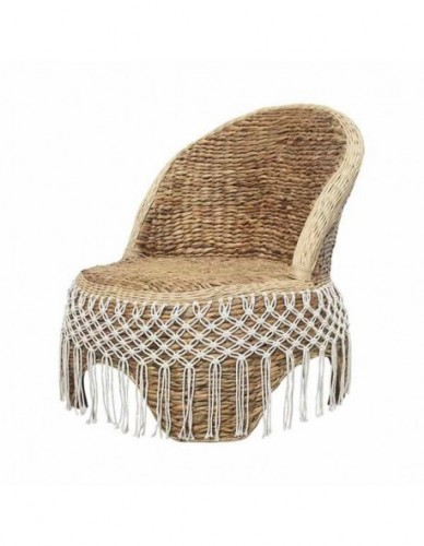 CINJUNTAI OCC CHAIR WATERHYACINTH WEBBING. DIA. 2-3 MM COTTON ROPE KNOT WEBBING