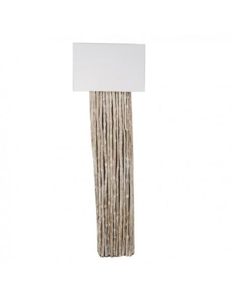 Iluminación Lampara suelo de Ramas Madera - Color Natural