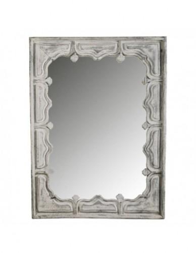 Decoración Espejos de Madera Estilo Exotico - Color White wash, Interior