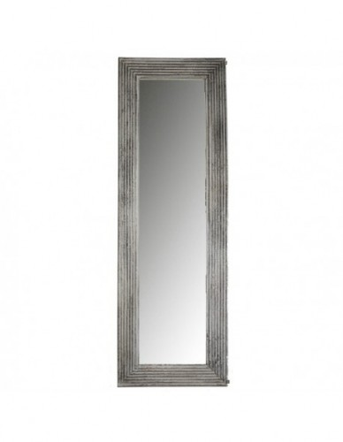 Decoración Espejos de Rattan y tela, Interior