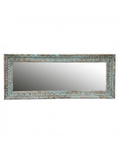 Decoración Espejos de Madera Estilo Etnico - Color Azul, Interior