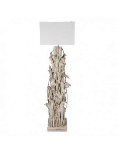 Iluminación Lampara suelo de Ramas - Color White wash