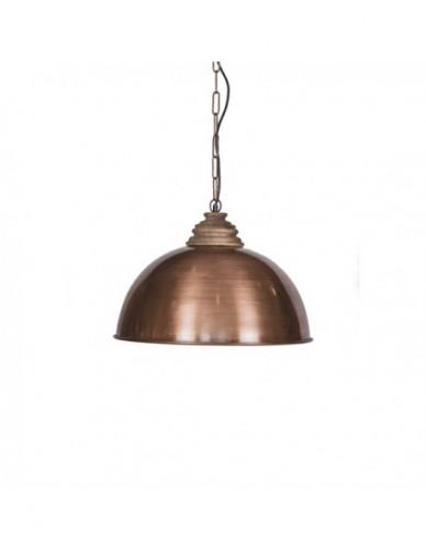 Iluminación Lamparas techo de Hierro Madera - Color Bronce, Interior