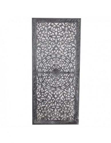 Decoración Mandala de Madera Estilo Exotico - Color Black wash, Interior
