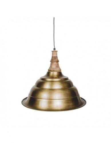 Iluminación Lamparas techo de Hierro Estilo Industrial - Color Gold, Interior