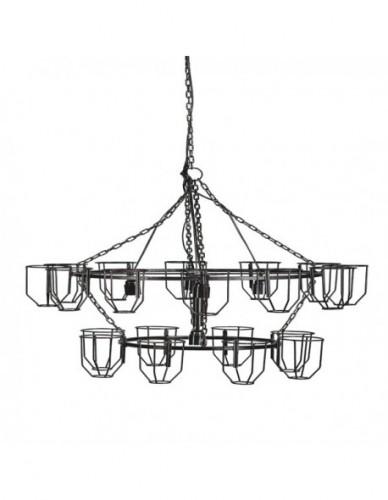 Iluminación Lamparas techo Botellero de Hierro, Interior