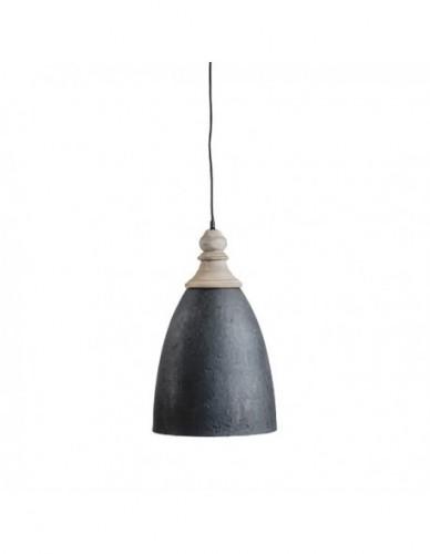 Iluminación Lamparas techo de Hierro Negro - Color Natural, Interior