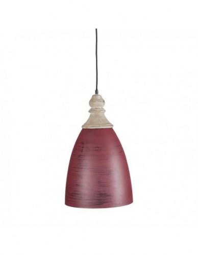 Iluminación Lamparas techo de Hierro Rojo, Interior
