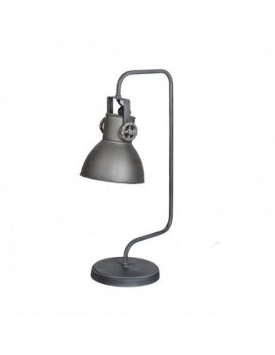 Iluminación Lampara sobre mesa de Hierro Gris, Interior